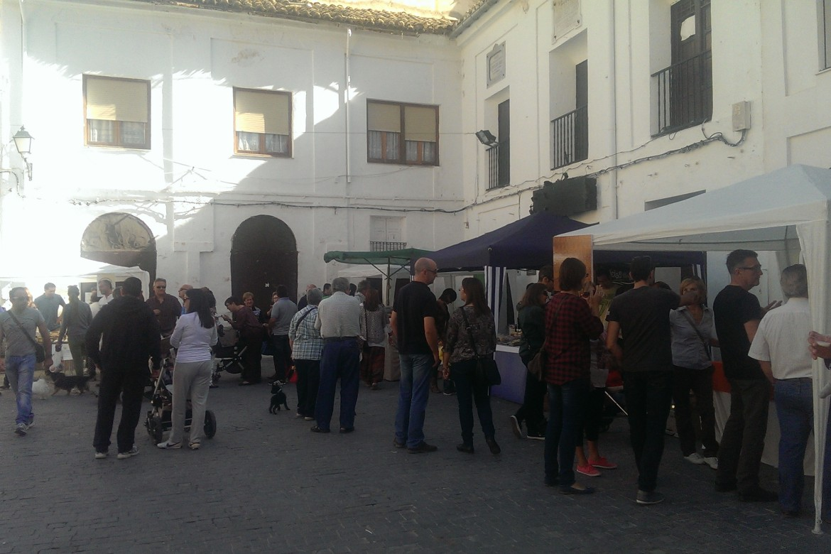 Este domingo regresa el Mercado de la Tierra a la Plaza Mayor
