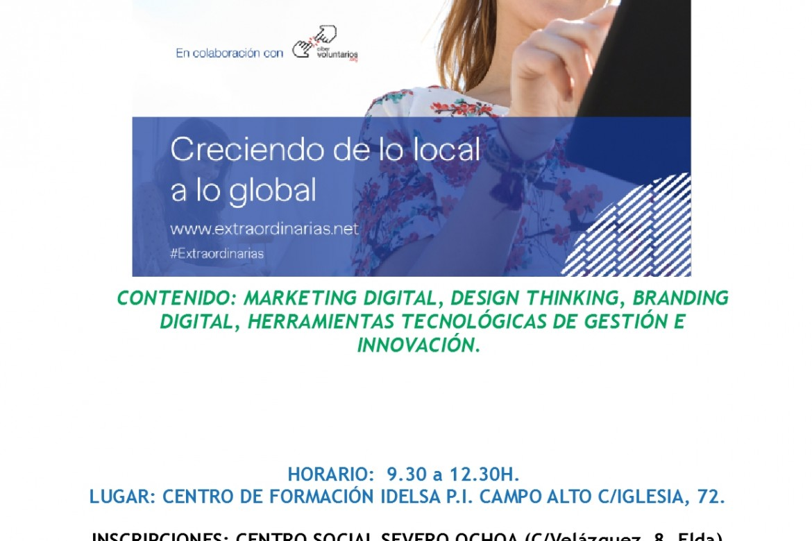 Curso gratuito sobre Marketing digital para mujeres emprendedoras