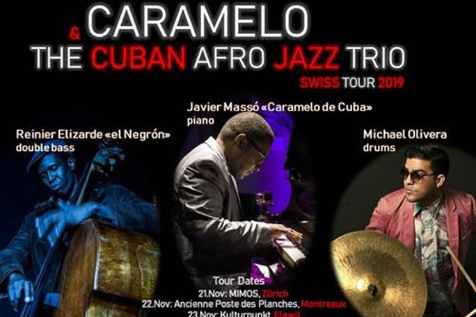 Caramelo & The Cuban afro jazz trío en la KAKV