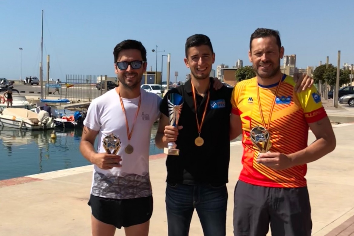 El Club Triatlón Villena sigue cosechando triunfos en Campello