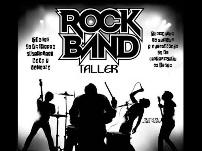 Curso de Rock School y Taller Rock Bands
